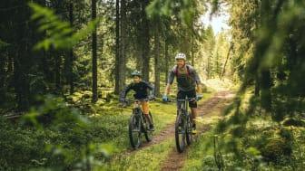 Biking Dalarna: Säfsen