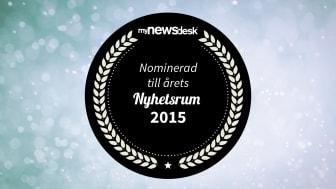 Goodyear nominerad till Årets Nyhetsrum 2015