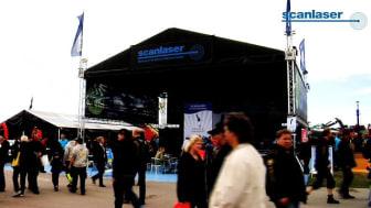 Scanlaser på MaskinExpo 2010