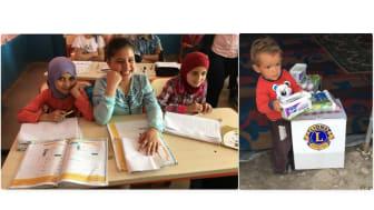 Viktiga delar i projektet, skola och mat för dagen.