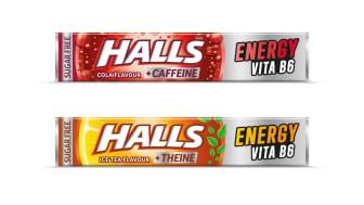 Οι νέες Halls Energy με βιταμίνη Β6 εκτοξεύουν την ενεργεία στα ύψη συμβάλλοντας στη μείωση της κούρασης και της κόπωσης!
