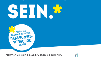 """""""Ausreden können tödlich sein"""". Darmkrebsmonat März 2016."""
