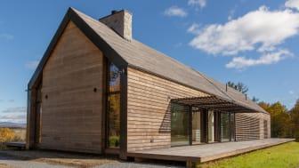 Holzfassade und Dach aus Kebony - Idyllisches Landhaus Silvernails in New York trotzt jeder Witterung