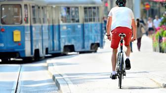 Staden som är bäst i Sverige på hållbara transporter presenteras i Almedalen