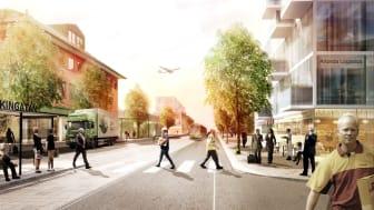 Sveriges första riktiga flygplatsstad Airport City Stockholm presenterar unik stadsbyggnadsstrategi