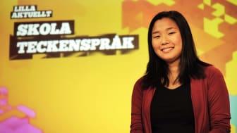 Säsongspremiär för teckenspråkstolkade nyheter för barn