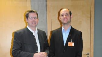 Stephan Stracke mit BdS-Referent Patrick Birnesser