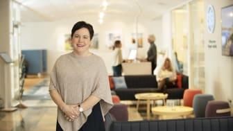 Efter sju år som vd för SKB har Eva Nordström meddelat att hon avser att sluta. Foto: Christoffer Dracke