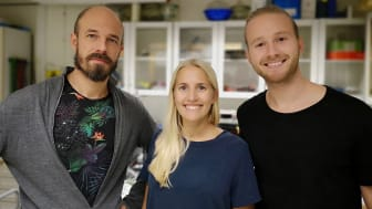 Björn Wickman - Research & Development, Emma Ericson - Operations och Johan Björkquist - Partnerships på Atium.