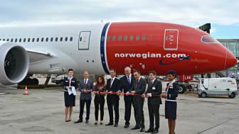 Norwegian inaugura hoy sus vuelos transoceánicos entre Barcelona y Estados Unidos.