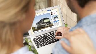 Intresset för husbilar har ökat markant det senaste halvåret.