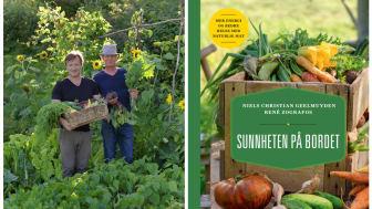 """GJEVT SØLV: – En topplassering i en konkurranse der det deltar såpass mange bøker fra de fleste land i verden må jo sies å være en bragd, sier René Zografos, som tidligere har gått helt til topps med boken """"Helt naturlig mat""""."""