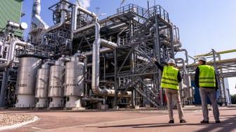 Pressereise Bitterfeld-Leuna / Wasserstoffproduktion bei Linde