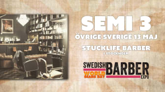 Årets barberare 2018 - semifinal Övriga Sverige