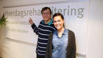 Bjørn Haraldsen og Madelene Stolpe
