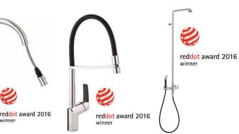 International design awards for three brand new Damixa products