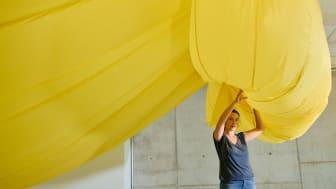 """KairosBlue Coworking Space Installation """"Volume 2"""" von Hannah Schneider Clouth 104 Köln"""