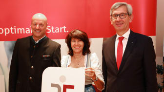 Stadtsparkasse München erhält Auszeichnung für Audit Beruf und Familie
