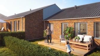 Søndag den 6. oktober begynder salget af Ikano Bolig-rækkehuse i Hillerød.