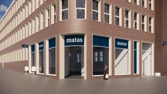 Den nye Matas Life butik på hjørnet af Søndergade og Østergade åbner til efteråret
