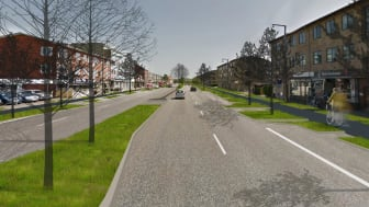 Visualisering af Roskildevej, etape 2