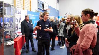 Weltmarktführer-Forum in Louisenlund - MINT-Talente im Dialog mit Unternehmen aus Schleswig-Holstein