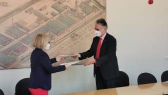 Synergien nutzen und regionale Potenziale stärken: TH Wildau und HWK Cottbus unterzeichnen Kooperationsvereinbarung