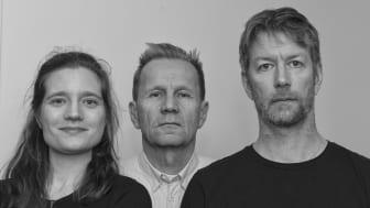 Författarporträtt: Kristina Sygel, Harald Kjellin och Love Ekenberg