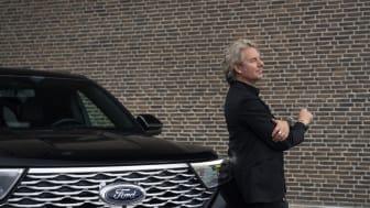 Joe Labero blir ny ambassadör för Ford i Sverige