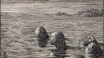 Makt og magi. Halfdan Egedius, Seidmennene på Skratteskjær, 1895-1899