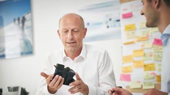 Jens Zeller, Geschäftsführer von idem telematics spricht auf dem Digitalen Logistikforum 21