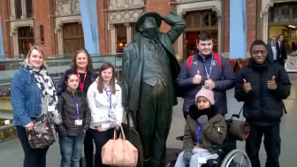 Thameslink inspires young people with learning difficulties to take the train