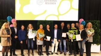 2019 års vinnare av Utmärkelsen – Göteborgsregionens pris för bästa samverkan mellan skola och arbetsliv
