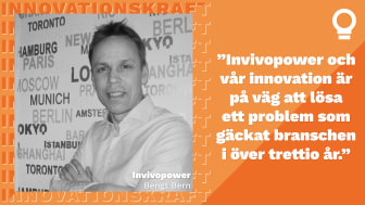 Invivopower finalist i Innovationskraft
