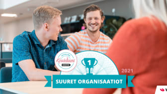 Visma Solutions ensimmäiselle sijalle Vastuullinen Kesäduuni 2021 -tutkimuksessa