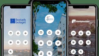 Bostadsbolagets hyresgäster testar digitala boendetjänster i app