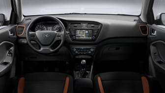 Nye Hyundai i20 Coupe, dashboard