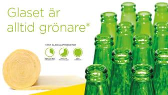 Glaset är alltid grönare- ISOVER visar hur