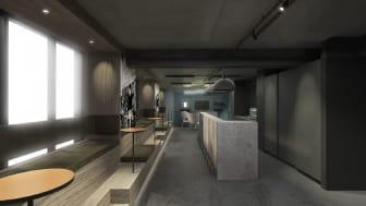 Nyt loungemiljø til forvandlet hotel