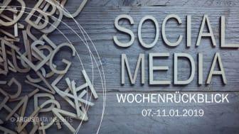 Die Woche in Social Media KW 02 I 2019