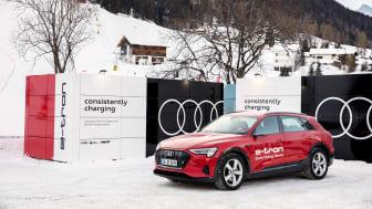 Audi leverer CO2-neutral mobilitet og opladningsløsninger til World Economic Forum i Davos