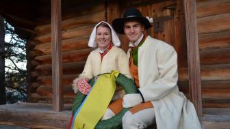 Victor och Viktoria bekransar segrarna i TjejVasan och Vasaloppet 2015