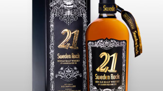 I samarbete med ny svensk whiskyproducent lanseras Sweden Rock 21 Ny Amerikansk Ek.