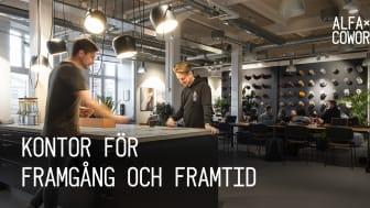 Flexibilitet, dynamik och inspiration – nu växer framtidens kontor fram på Industrigatan i Linköping