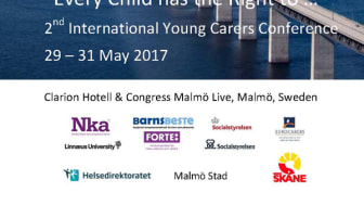 Konferensprogrammet till 2nd International Young Carers Conference klart