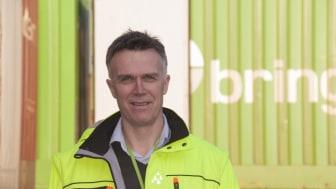 """""""Med bedre pladsudnyttelse øger vi kapaciteten i lastbilerne samtidig med at vi reducerer antal køretøjer og containere på vejen"""", siger Inge Seljeset, distriktschef i Posten Norge med ansvar for linjetrafik (foto: Logistikkinside.no)"""