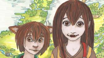 Utställningen Sagolandet Skaraborg baseras på barnböckerna om Kira och Luppe som upplever äventyr på olika platser i Skaraborg.