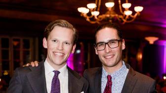 Årets Unga Entreprenör Öst Hugo Larsson och Linus Werner, grundare av  Save-by-Solar Sweden