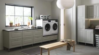 Vackra kulörer och klok förvaring när Vedum släpper sina nyheter för tvättstugan