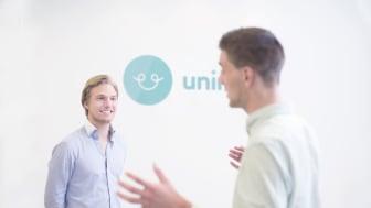 SiO inviterer Uninite til nettmøte med studentene. Uninite tilbyr en digital tjeneste som kobler leietakere sammen basert på personlighet og interesser. (Foto: Christoffer Meyer / Kind)